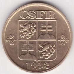 Кованица > 20хелера, 1991-1992 - Чехословачка  - reverse