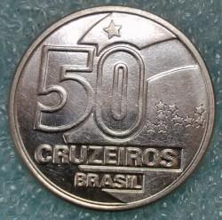 Monēta > 50kruzeiro, 1990-1992 - Brazīlija  - reverse