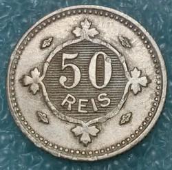 Монета > 50рейса, 1900 - Португалия  - reverse