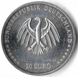 Moeda > 20euro, 2017 - Alemanha  (300th Anniversary - Birth of Johann Winckelmann) - obverse