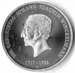 Moeda > 20euro, 2017 - Alemanha  (300th Anniversary - Birth of Johann Winckelmann) - reverse