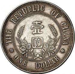 Moneda > 1yuan, 1927 - China - República  (Sun Yat-sen) - reverse