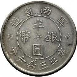 Moeda > 50cêntimos, 1932 - China - República  - reverse