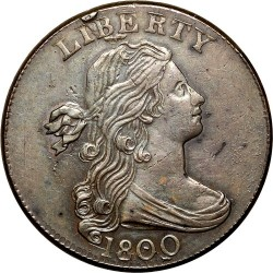 Munt > 1cent, 1796-1807 - Verenigde Staten  (Draped Bust Cent) - obverse