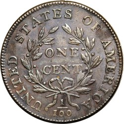 Munt > 1cent, 1796-1807 - Verenigde Staten  (Draped Bust Cent) - reverse