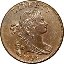 Νόμισμα > 1Σέντ, 1796-1807 - Η.Π.Α  (Draped Bust Cent) - obverse
