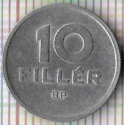 Νόμισμα > 10Φίλερ, 1965 - Ουγγαρία  - reverse