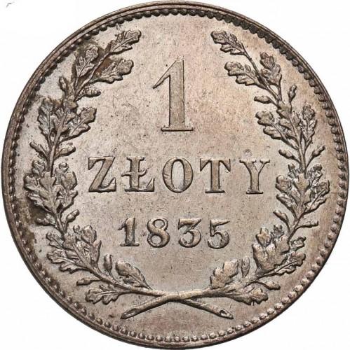 1 Złoty 1835 Krakau Münzen Wert Ucoinnet