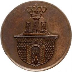 Minca > 3groše, 1835 - Krakov  - obverse