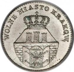 Minca > 5groszy, 1835 - Krakov  - obverse