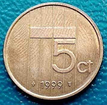 5 Cent 1999 Niederlande Münzen Wert Ucoinnet