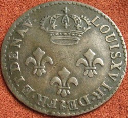 Moneta > 2sous, 1780-1790 - Guyana Francese  - reverse