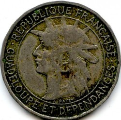 Münze > 1Franken, 1903-1921 - Guadeloupe  - obverse