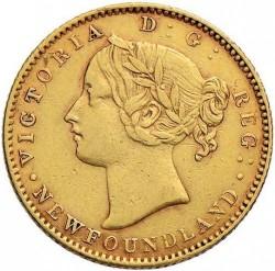 Кованица > 2долара, 1865-1888 - Њуфаундленд  - obverse