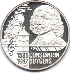 Munt > 5euro, 1996 - Nederland  (Constantijn Huygens) - reverse