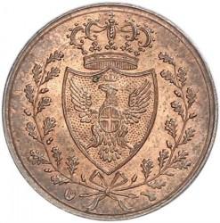Moneta > 1centesimo, 1826 - Sardegna  - obverse