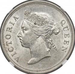 Монета > 50центов, 1886-1901 - Стрейтс Сетлментс  - obverse