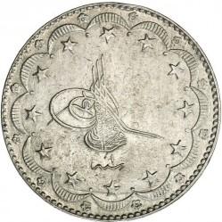 Moneda > 20kurus, 1918 - Imperio otomano  - obverse