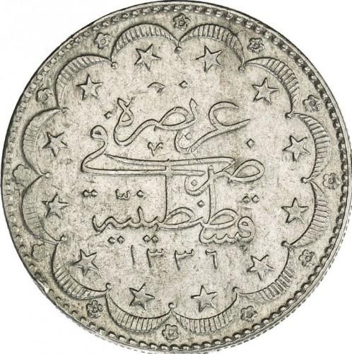20 Kuruş 1918 Osmanisches Reich Münzen Wert Ucoinnet