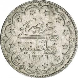 Moneda > 20kurus, 1918 - Imperio otomano  - reverse