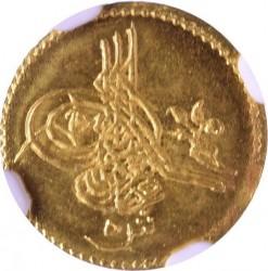 Minca > 5qirsh, 1861 - Egypt  (Gold /yellow color/) - obverse