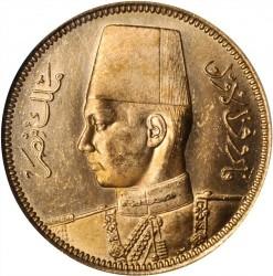 Монета > 100піастрів, 1938 - Єгипет  - obverse