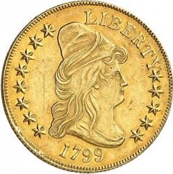 Moneda > 10dólares, 1797-1804 - Estados Unidos  (Liberty Cap - Eagle) - obverse