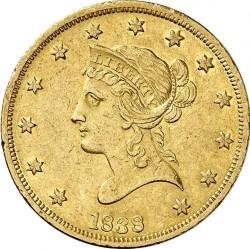Munt > 10dollars, 1838 - Verenigde Staten  - obverse