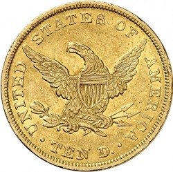 Munt > 10dollars, 1838 - Verenigde Staten  - reverse