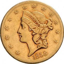 Münze > 20Dollar, 1850-1865 - USA  (Double Eagle) - obverse