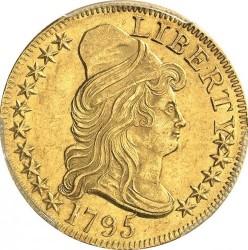 Moneda > 5dólares, 1795-1798 - Estados Unidos  (Liberty Cap - Half Eagle) - obverse