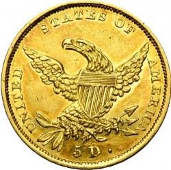 Νόμισμα > 5Δολάρια, 1834-1838 - Η.Π.Α  - reverse