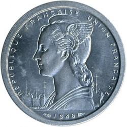 Кованица > 2франке, 1948 - Мадагаскар  - obverse