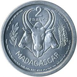 Кованица > 2франке, 1948 - Мадагаскар  - reverse