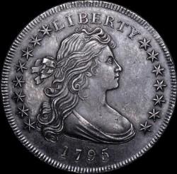 Munt > 1dollar, 1795-1798 - Verenigde Staten  (Draped Bust Dollar) - obverse