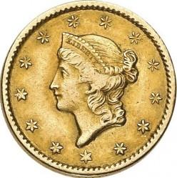 Munt > 1dollar, 1849-1854 - Verenigde Staten  (Liberty Head) - obverse