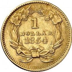 Νόμισμα > 1Δολάριο, 1854-1856 - Η.Π.Α  (Small Indian Head) - reverse