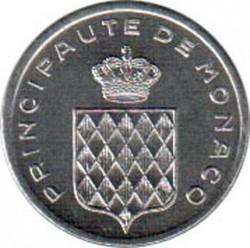 سکه > 1سنتیم, 1976-1995 - موناکو  - obverse