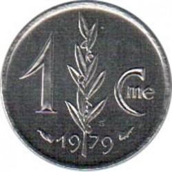 Pièce > 1centime, 1976-1995 - Monaco  - reverse