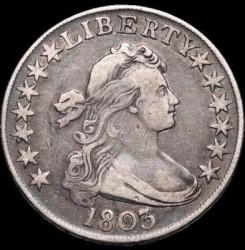 Moneda > ½dólar, 1801-1807 - Estados Unidos  (Draped Bust Half Dollar) - obverse