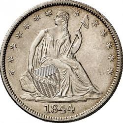 Munt > ½dollar, 1839-1852 - Verenigde Staten  (Seated Liberty Half Dollar) - obverse