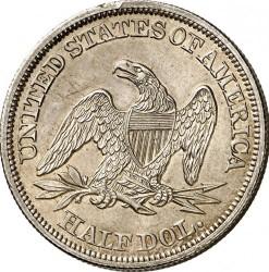 Munt > ½dollar, 1839-1852 - Verenigde Staten  (Seated Liberty Half Dollar) - reverse