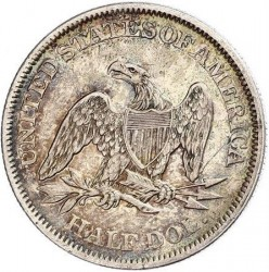 Монета > ½доллара, 1856-1865 - США  (Seated Liberty Half Dollar) - reverse