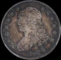 Νόμισμα > ¼Δολάριο, 1815-1828 - Η.Π.Α  (Liberty Cap Quarter) - obverse