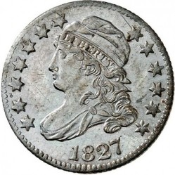 Munt > 10cents, 1809-1828 - Verenigde Staten  (Liberty Cap Dime) - obverse
