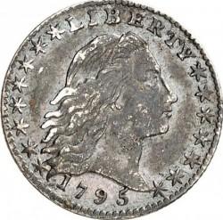 Νόμισμα > 5Σέντς, 1794-1795 - Η.Π.Α  (Flowing Hair Half Dime) - obverse