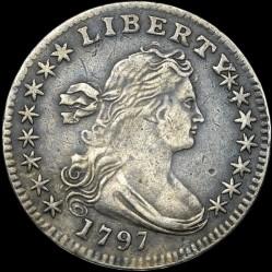 Munt > ½dime, 1796-1797 - Verenigde Staten  (Draped Bust Half Dime) - obverse