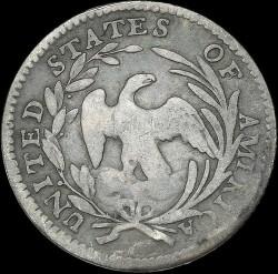 Munt > ½dime, 1796-1797 - Verenigde Staten  (Draped Bust Half Dime) - reverse