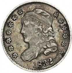 Munt > 5cents, 1829-1837 - Verenigde Staten  (Liberty Cap Half Dime) - obverse