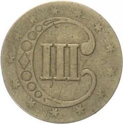 Münze > 3Cent, 1851-1853 - USA  - reverse